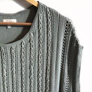 Lucky Brand | Short Sleeve Knit Top | M